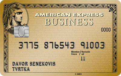 American Express® Gold Business Card